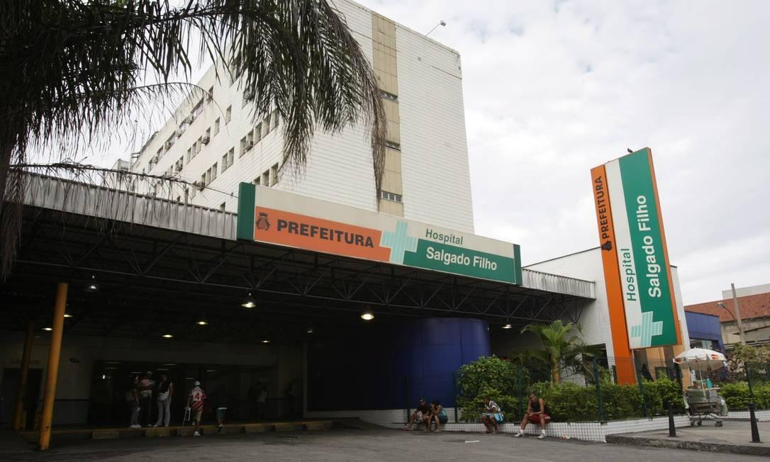 Hospital Salgado Filho: em 2010, quase metade dos pacientes internados por mais de 24h na emergência morreu de infecção Foto: Laura Marques
