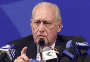 Havelange foi o todo-poderoso da Fifa por 24 anos Foto: Reuters