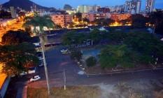 A área, formada por seis lotes, fica entre as ruas Bartolomeu Mitre, Capitão César de Andrade e Avenida Visconde de Albuquerque e é ocupada desde os anos 1950 pelo 23º BPM (Leblon) Foto: O Globo / Fernando Quevedo