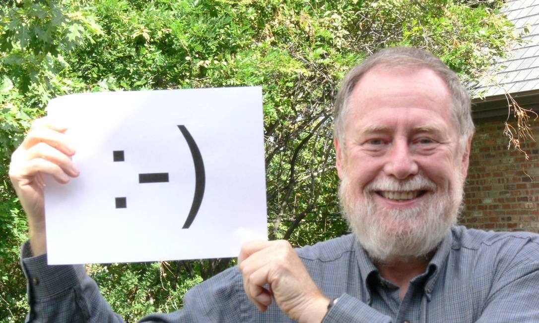 Scott Fahlman, professor-pesquisador da da Universidade de Carnegie Mellon, criou os emoticons em 19 de setembro de 1982. Foto: Arquivo pessoal