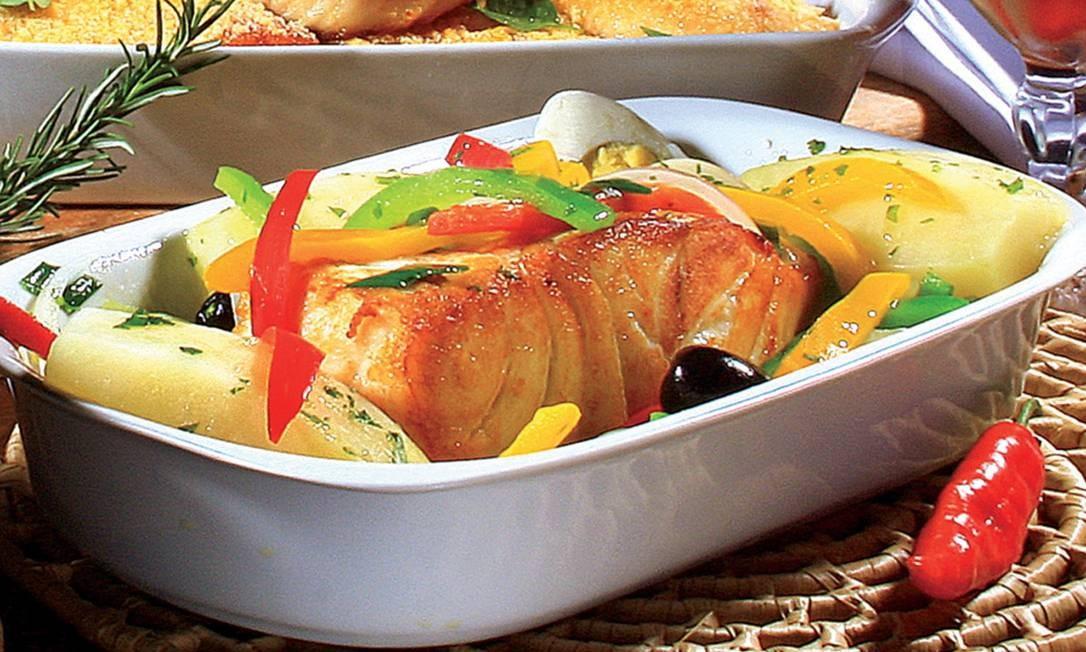 Lombo de bacalhau Foto: Divulgação / Divulgação