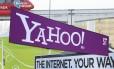 Estande da Yahoo, em 2008, na Consumer Electronics Show (CES) em Las Vegas
