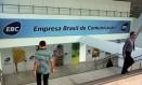 Entrada da nova sede da Empresa Brasil de Comunicação (EBC), antiga Radiobrás, em Brasília Foto: O Globo / Givaldo Barbosa