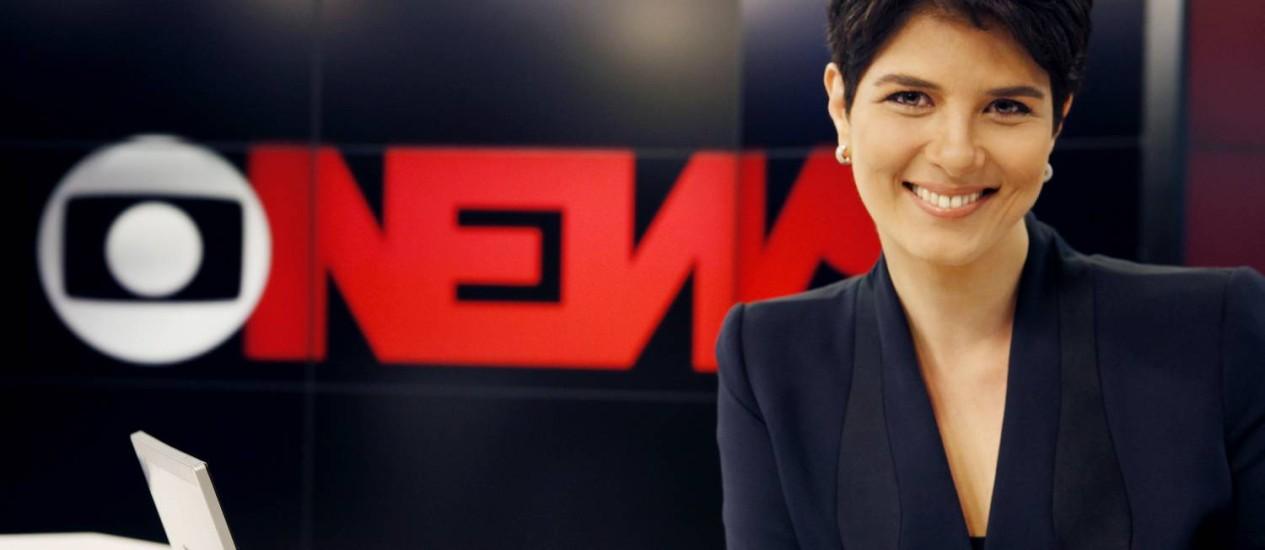 A jornalista vai apresentar o telejornal no Rio de Janeiro Foto: TV Globo/Matheus Cabral