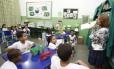 Escola Municipal Rodrigo Melo Franco de Andrade, no Andarai