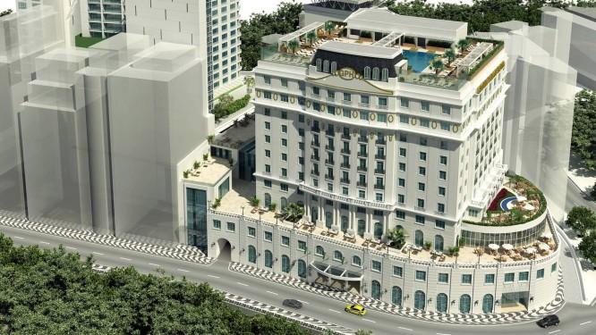 Imagem de como será a fechada do hotel Foto: Reprodução