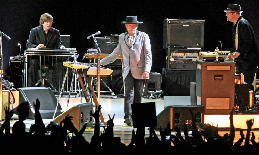 Show de Bob Dylan no Brasil em 2008 Foto: Leonardo Aversa / Agência O Globo