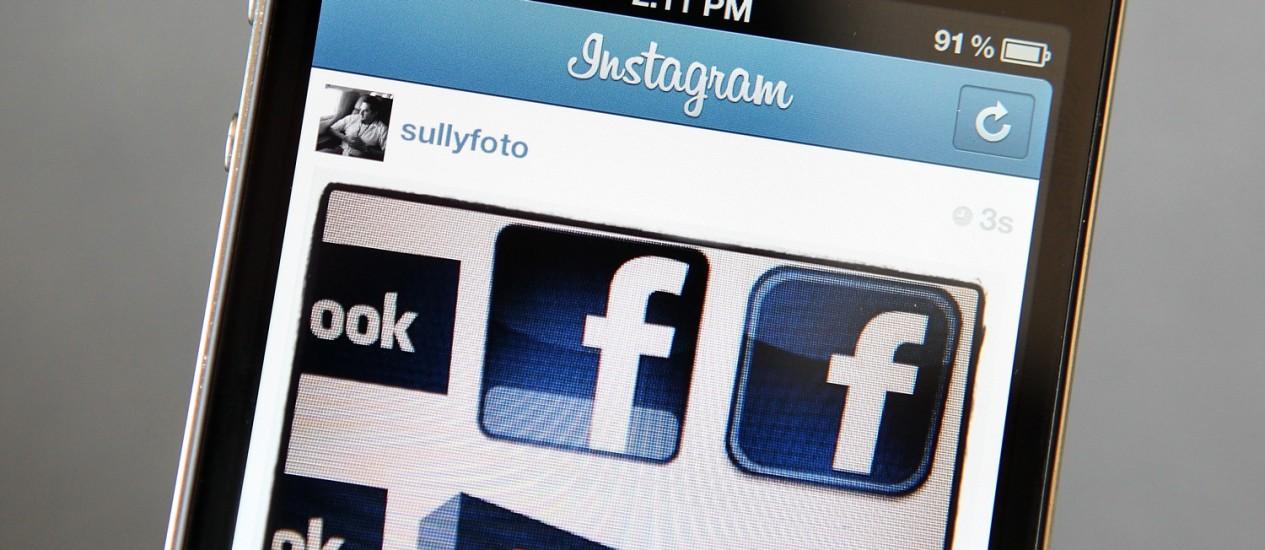 Facebook agora é o dono do Instagram, aplicativo de fotos para Android e iOS Foto: AFP