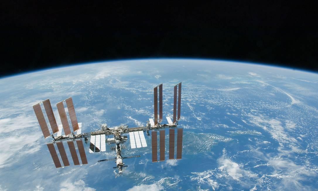 Estação Espacial Internacional recebeu os ratos da pesquisa Foto: AP