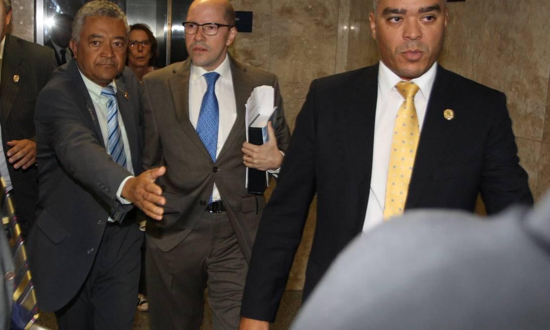 Demóstenes Torres foi flagrado em escutas telefônicas com o contraventor Carlinhos Cachoeira Foto: O Globo 12/04/2012 / Ailton de Freitas