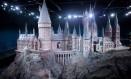 Maquete de Hogwarts nos estúdios da Warner Bros., perto de Londres Foto: Divulgação