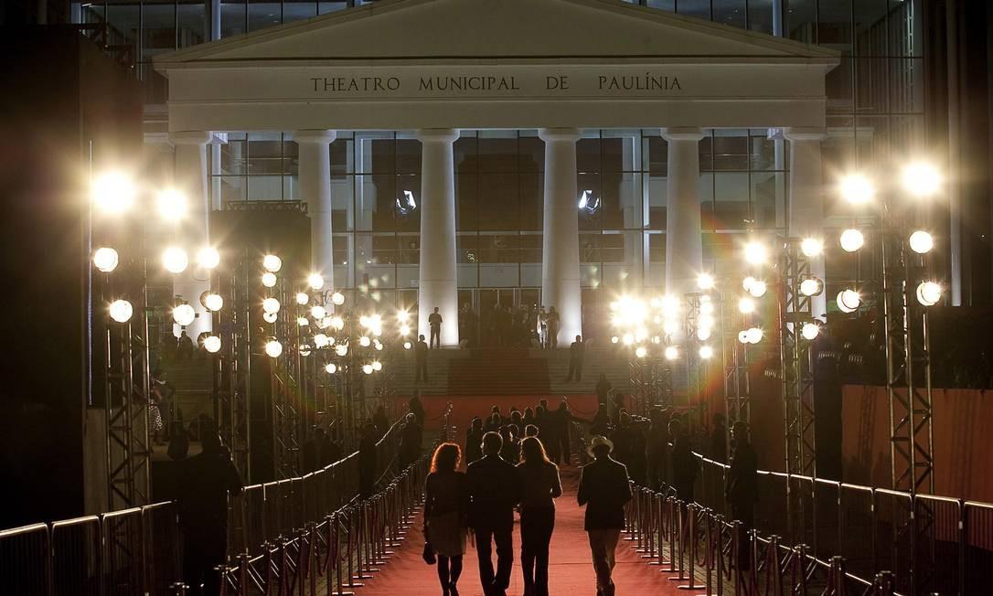 O Teatro Municipal de Paulínia em 2012 Foto: Divulgação/Eduardo Anizelli/Folhapress