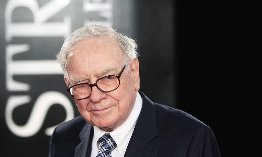 Investidor Warren Buffet vai iniciar tratamento de dois meses de radiação diária Foto: LUCAS JACKSON / REUTERS/ARQUIVO
