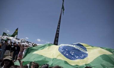 O Movimento de Combate à Corrupção, que se diz apartidário, mas tem o apoio da Ordem dos Advogados do Brasil (OAB), se articula para participar da CPI criada no Congresso Nacional Foto: André Coelho / O Globo