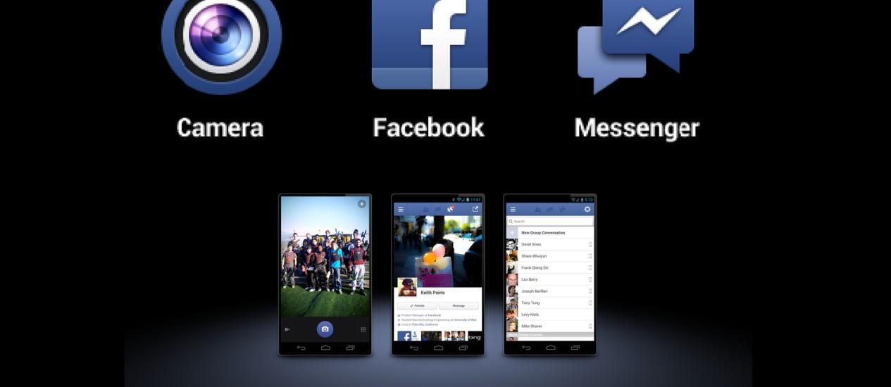Facebook lança dois novos ícones para versão 1.9 do Android Foto: Divulgação
