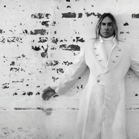 O cantor Iggy Pop Foto: Divulgação