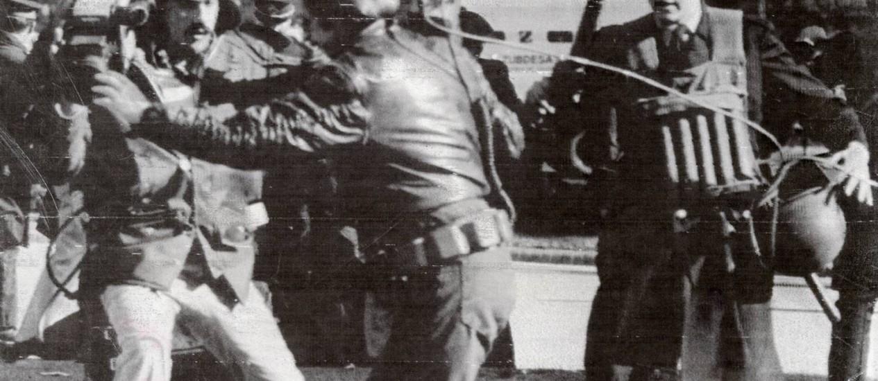 Guerra das Malvinas Foto: Arquivo O Globo