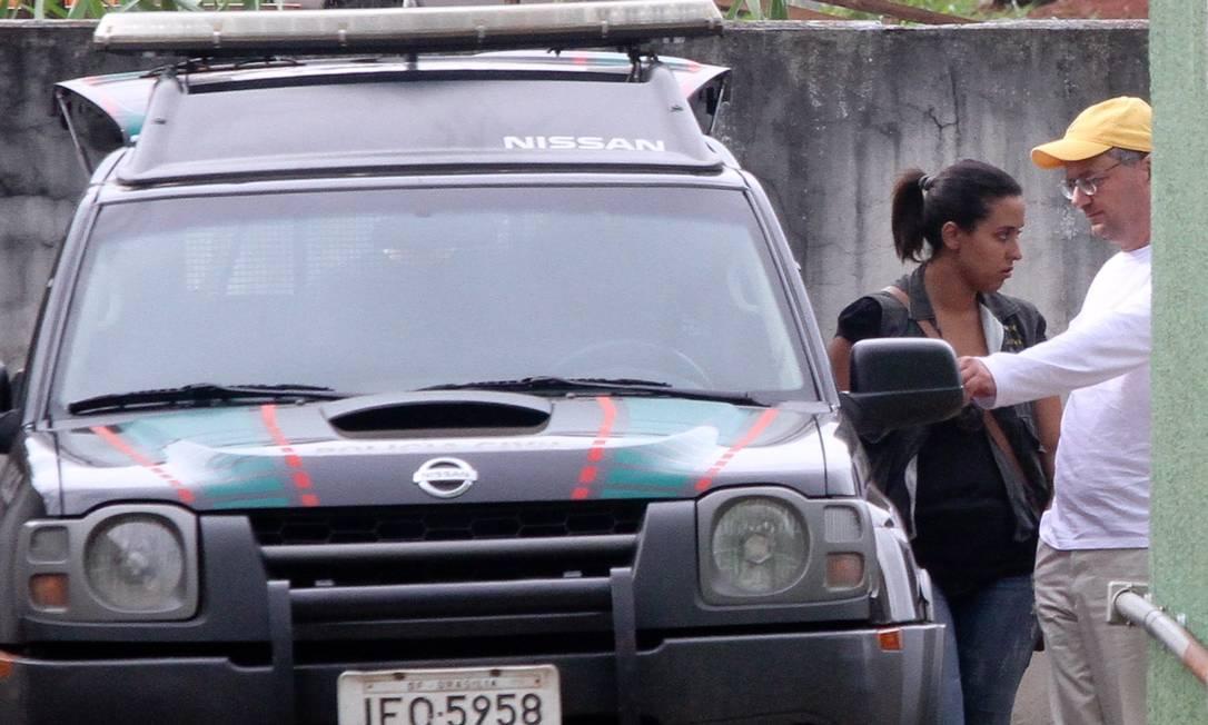 Claudio Abreu, ex-diretor da Delta, é preso em Goiânia Foto: O Globo / Pedro Ladeira