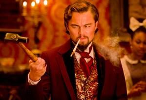 Leonardo DiCaprio como vilão em 'Django unchained', novo filme de Quentin Tarantino Foto: Reprodução