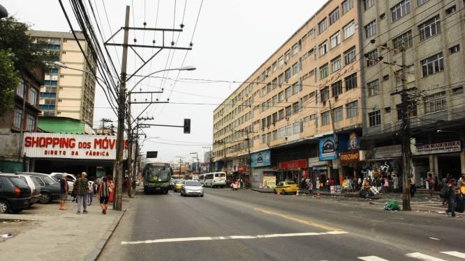 O Mercadão de Madureira é o principal ponto comercial da Zona Norte Foto: Angelo Antônio Duarte