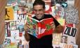 O DESIGNER Felipe Taborda, curador da Glob-All Mix: exposição de cartazes, que ocorrerá no Planetário