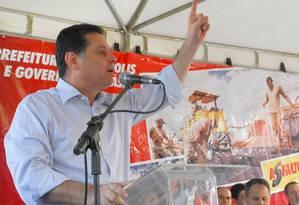 Investigação da PF indica estreita ligação do contraventor Carlinhos Cachoeira com o governador de Goiás, Marconi Perillo (foto) Foto: Divulgação/ Governo de Goiás