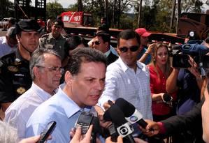 Marconi Perillo é citado em conversas do contraventor Carlinhos Cachoeira Foto: Divulgação/ Governo Goiás