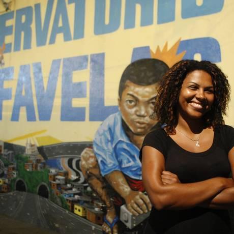 Cursinho comunitário para Mestrado e Doutorado no Observatório das Favelas, na Favela da Maré Foto: Marcos Tristão