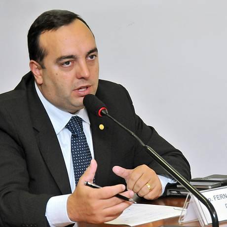 O deputado Fernando Francischini (SDD-PR) Foto: Agência Câmara - 30/04/12