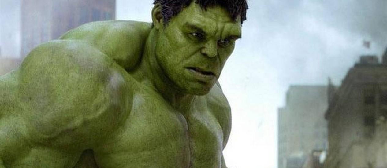 Mark Ruffalo interpreta Hulk em 'Os Vingadores' Foto: Divulgação