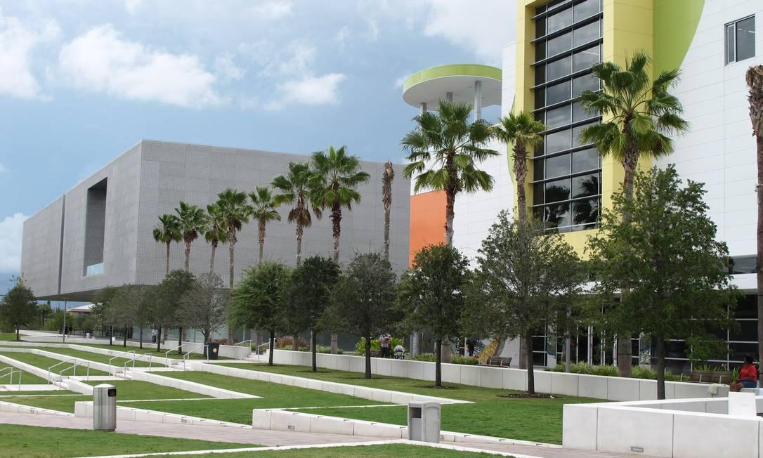 O Glazer Children's Museum em Tampa Foto: Eduardo Maia / O Globo