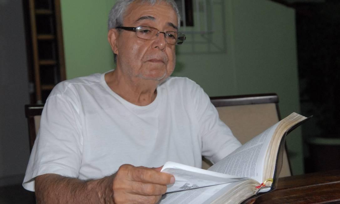 Ex-delegado Cláudio Guerra se prepara para virar pastor Foto: A Tribuna / Andressa Cardoso