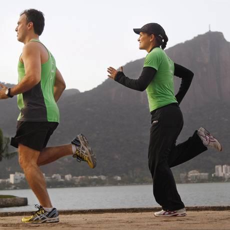 Corrida aumenta expectativa de vida Foto: Márica Folleto