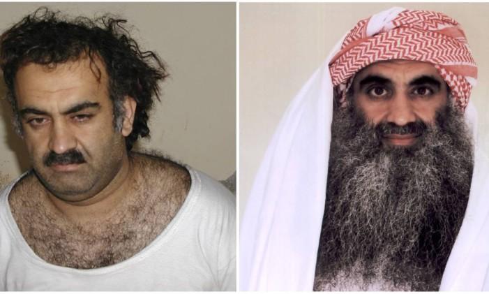 Khalid Sheikh Mohammed, após ser capturado no Paquistão em 2003 Foto: AP