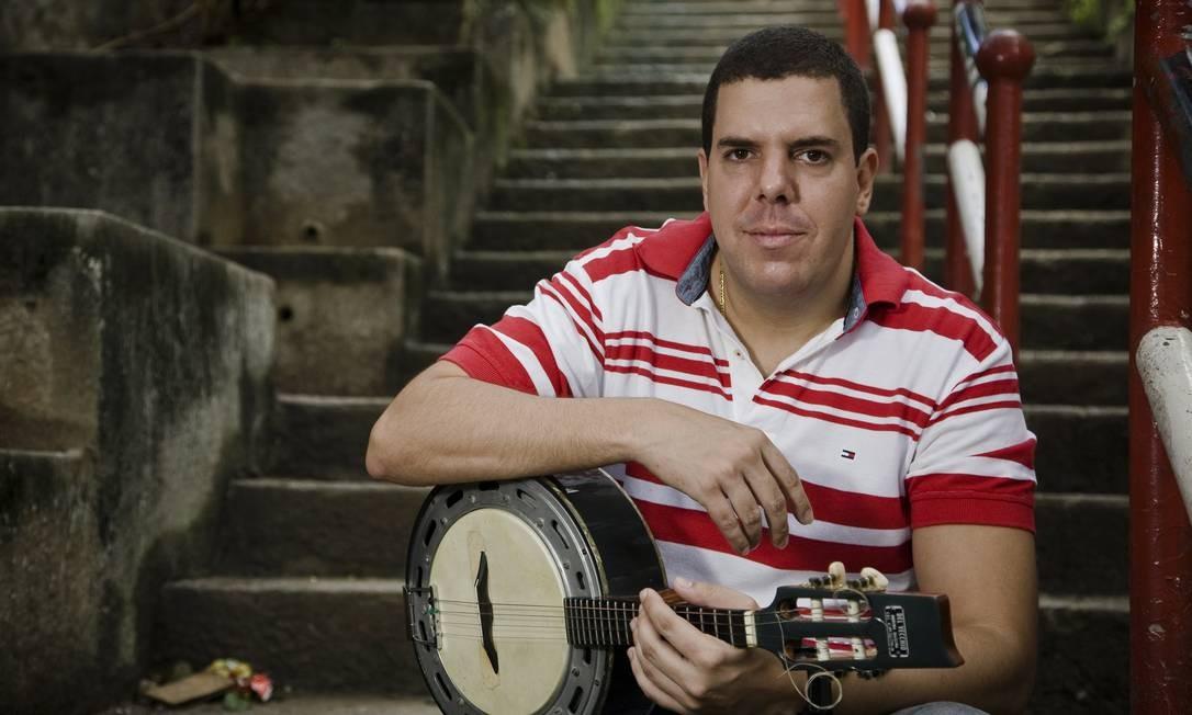 Fred Camacho: mais de 60 músicas gravadas, compostas com parceiros como Arlindo Cruz e Zeca Foto: Divulgação/Cecília Acioli