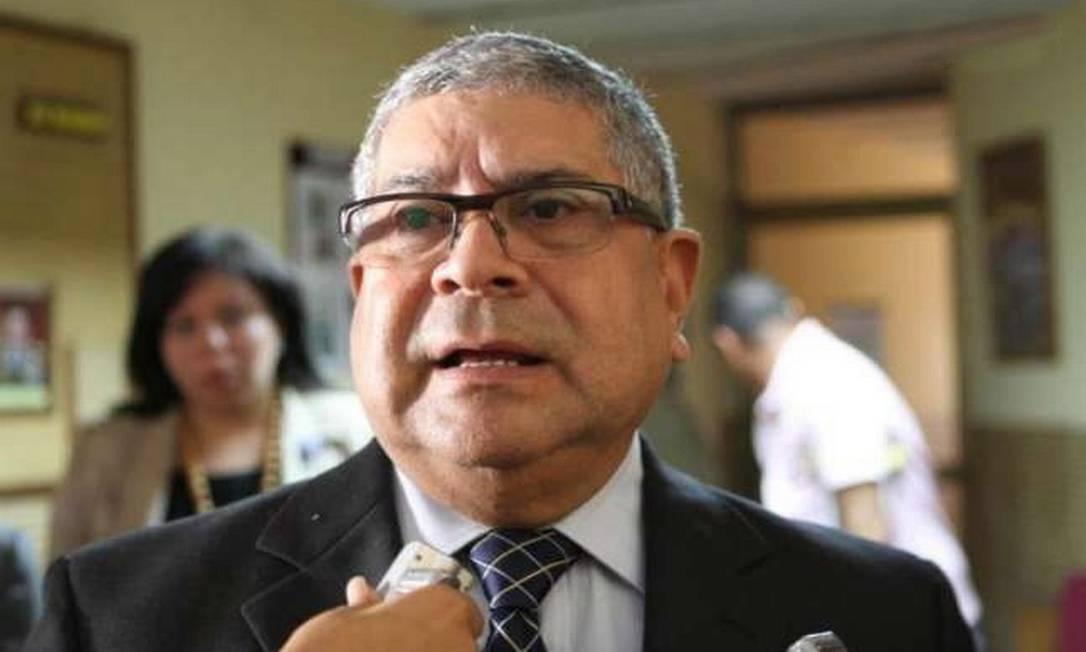 Eladio Aponte, que consta da lista de procurados da Interpol Foto: El Nacional