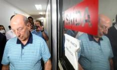 Anísio Abraão David na Corregedoria de Polícia em foto de 11/02/2012 Foto: Thiago Lontra / O Globo