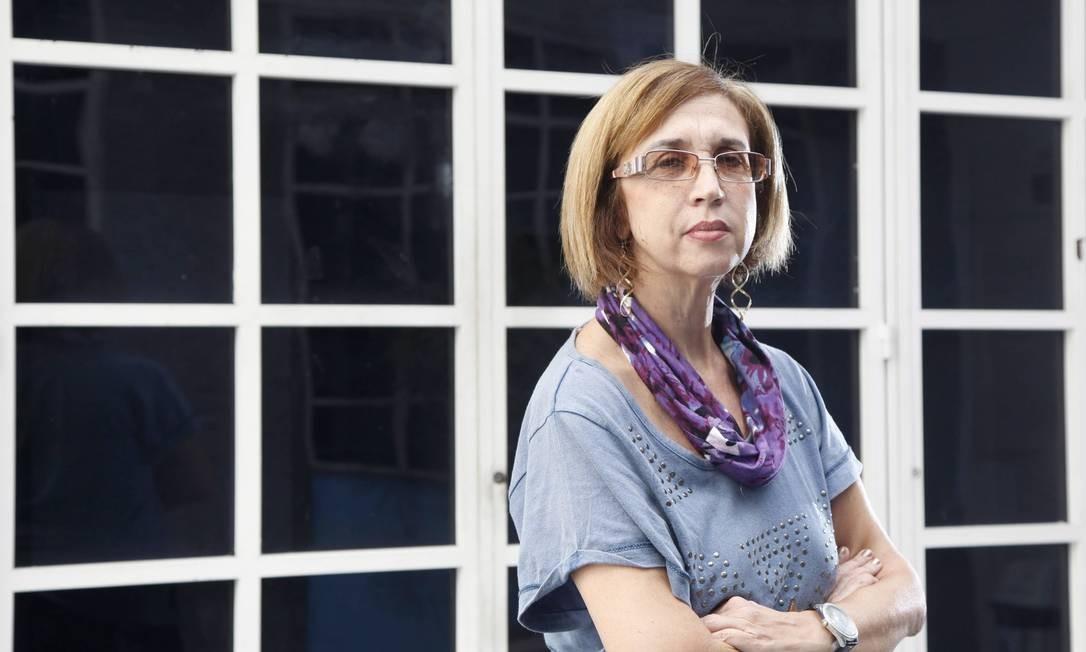Mãe de Inês Helena de Carvalho foi diagnosticada erroneamente com leucemia Foto: Fabio Rossi / Agência O Globo