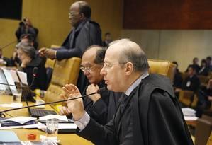 Ministros do STF em sessão pelnária nesta quarta-feira Foto: STF / Divulgação