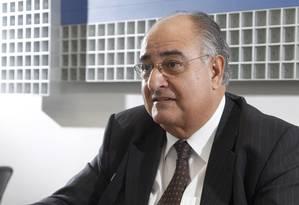 Carlos Alberto Verdini, novo presidente do Conselho de Administração da Delta Construções Foto: O Globo / Fabio Rossi