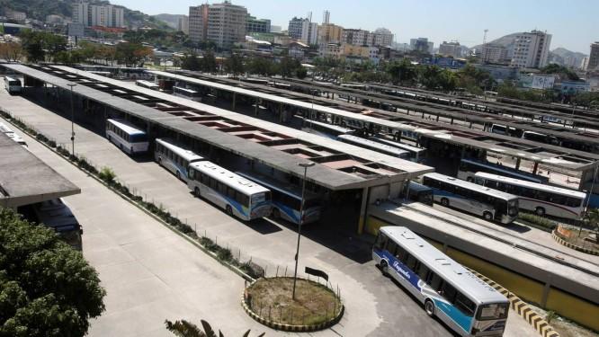 Terminal Rodoviário João Goulart, no Centro: mudanças serão discutidas na segunda Foto: Felipe Hanower / 17/08/2011