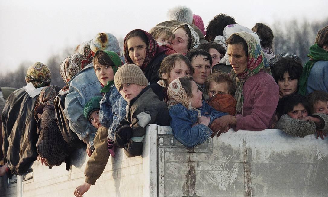 Resultado de imagen de refugiados bosnios