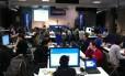 Facebook Hacker Cup, a final do Hackathon 2011 em Menlo Park, na Califórnia
