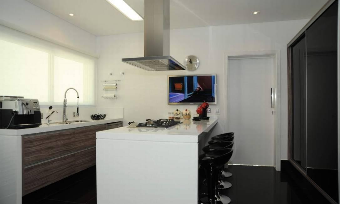 Na cozinha da Bontempo, as gavetas são abertas com um leve toque Divulgação