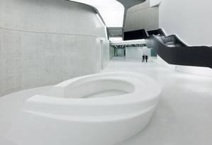 O Museu Maxxi, inaugurado em Roma em 2010, corre o risco de fechar Foto: Christophe Simon / AFP