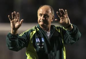 Felipão vai deixar o Palmeiras no fim do ano Foto: Paulo Whitaker / Reuters