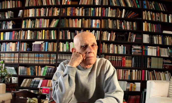 O contista e romancista Rubem Fonseca Foto: Zeca Fonseca / Arquivo O Globo