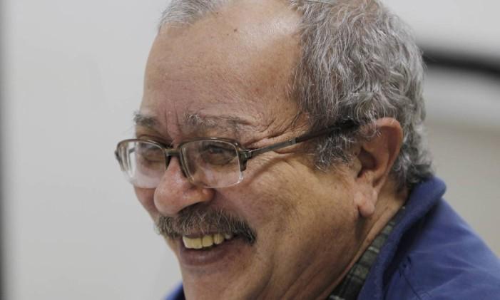 O autor João Ubaldo Ribeiro Foto: Marcia Foletto / Arquivo O Globo