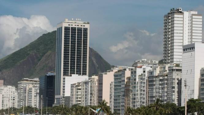 Parte da orla da Zona Sul, área cobiçada do Rio Foto: Foto: Hudson Pontes/Agência O Globo