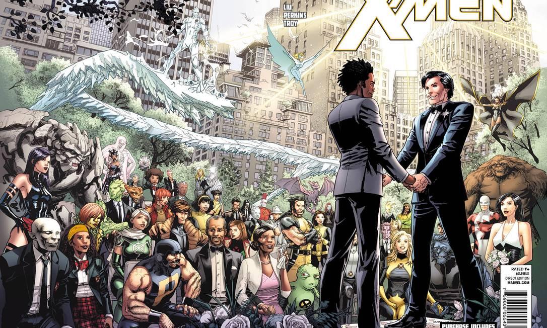 Capa da revista que trará o casamento de Estrela Polar Foto: Divulgação